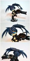 Black rock shooter chibi by razzminis