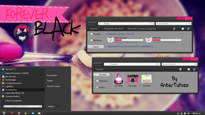 Forever Black for W7 by Waatt