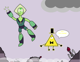 Bill and Peridot- A Game of Tag by Broxome