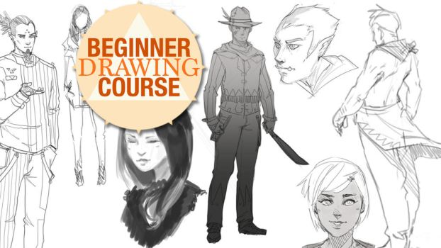 Beginner Drawing Course Week 01: Basics of Drawing by Taylor-payton