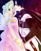 Prince And Princess by fluffys-inu