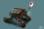 Scavenger Bot by Roselinath