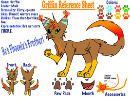 Griffin Reference Sheet by LightStudioz