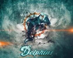 Miami Dolphins Wallpaper by Jdot2daP