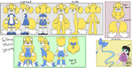 Taillena 'Melee' Strong Ref Sheet by shadyever