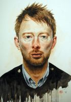 Thom Yorke by Mad-Margaret