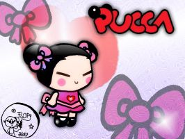 my beatiful Pucca by FlopyLopez