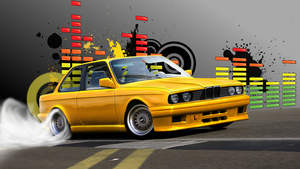 BMW e30 Wallpaper by Danchix
