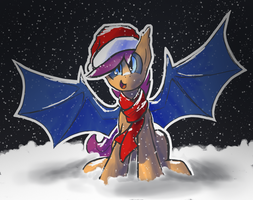 Bat Scoots Wishes a Merry Christmas/other holiday! by DarkFlame75