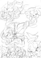 Sonic Doodlezzz : 45 by Narcotize-Nagini