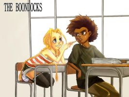 The Boondocks: Huey, Cindy by sukreih
