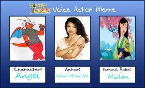Poke Voice Actor~Angel by M-13Beta