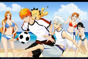 Bleach Beach by DrLinuX