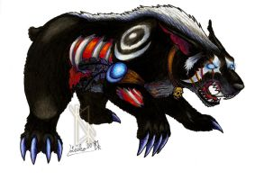 Death Bear by BurnsLikeIce