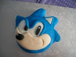 Sonic cake by Alichat