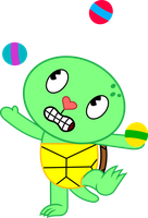 The juggling shell by porygon2z
