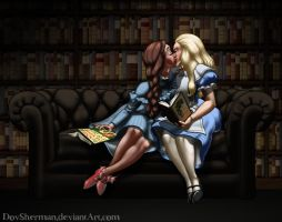 Sissy Book Club: Dorothy and Alice by DovSherman