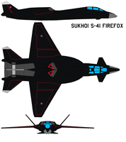 Sukhoi S-41 firefox by bagera3005