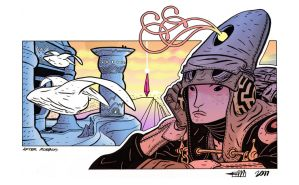 After Moebius by Andrew-Ross-MacLean
