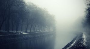 going trough mist by Dantestyle