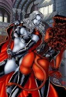 Lady Death Dominatrix Colours by james-t