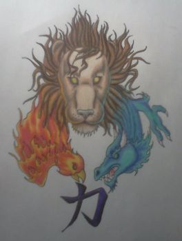 strength lion by AnythingButThat