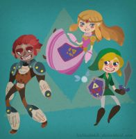 Ocarina of Time by lesliesketch