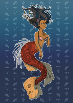 Filipino Ariel by kamidoodles