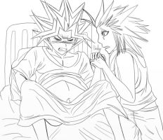 Yami In Labor And Axel Delivering Nita by CnightMpregVoreBellY
