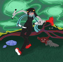 Scarf Four Terezi by DragoonWarrior