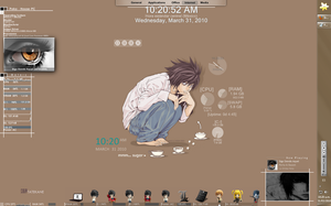Tema para windows 7 Death note by 117fausto