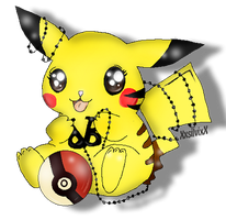 Pikachu BVB fan by XxsilvixX