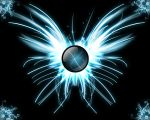 Abstract Butterfly in Blue by Nite-designs