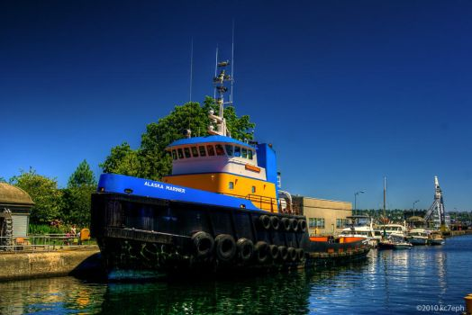 Tug Alaska Mariner by kc7eph