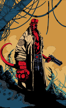 Hellboy -Colors- by Duende14