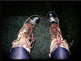 these boots were made for walk by elusive-sensations