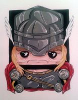 Thor by Squaracters