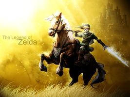 Legend of Zelda WP by Denjo16