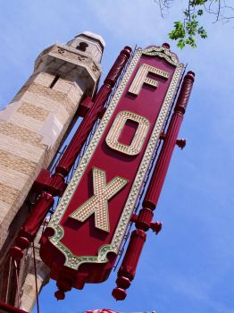 The Fox Theatre by SteelMcGee
