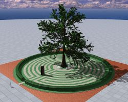Labyrinth - Tree by urCan