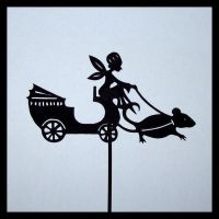 Shadow Puppet, Fairy Ride by PaperTales