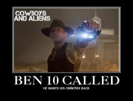 Cowboys and Aliens by GoldenGirl954