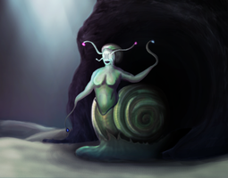 Snail Oracle- by Shaedry