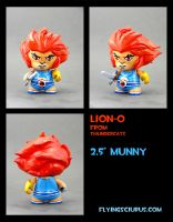 Lion-0 custom Munny by FlyingSciurus