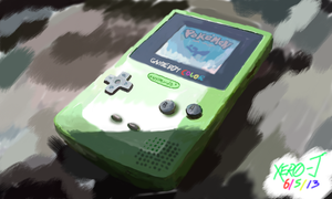 Game Boy Color :Colors 3D: by Xero-J
