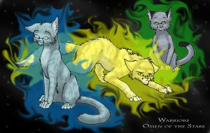 Warriors-Omen of the Stars by Simatra