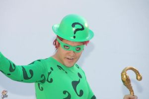 The riddler face... by LordJoker88