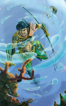 Aquaman Redesign by puttin-on-the-Ritz