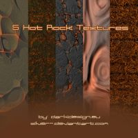 Texture Set 05'Hot Rock' by silver-