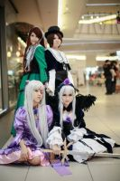 rozen maiden cosplay group by lilmizzwendy
